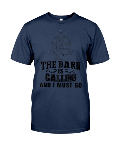 THE BARN IS CALLING AND I MUST GO