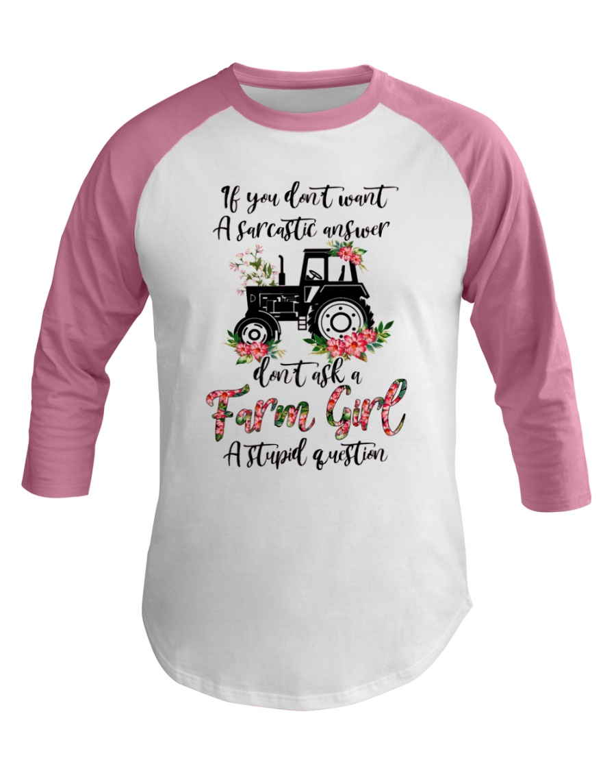 A CUTE SHIRT FOR FARM GIRL
