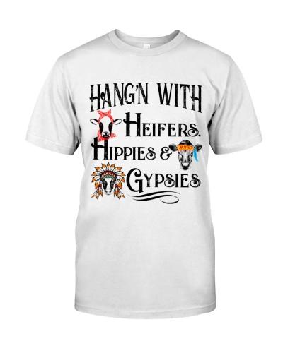 HANG'N WITH HEIFERS HIPPIES GYPSIES