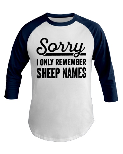 SORRY I ONLY REMEMBER SHEEP NAMES