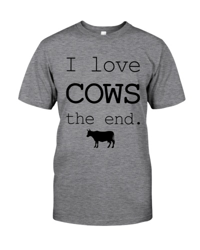 I LOVE COWS THE END