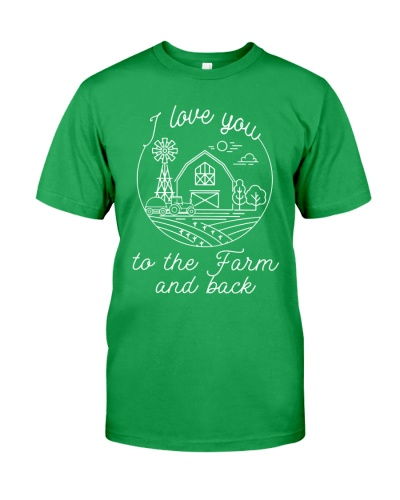 I LOVE YOU TO THE FARM AND BACK