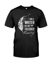 Writer And Reality Classic T-Shirt front