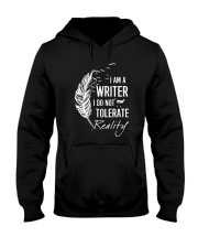 Writer And Reality Hooded Sweatshirt thumbnail