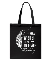 Writer And Reality Tote Bag thumbnail