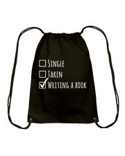 For Writer - Single or Taken Drawstring Bag thumbnail