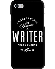 Skilled And Crazy Writer Phone Case thumbnail