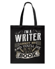 Don't Annoy Writers Tote Bag thumbnail