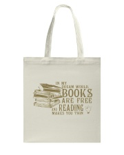 Readers' Dream World Tote Bag front