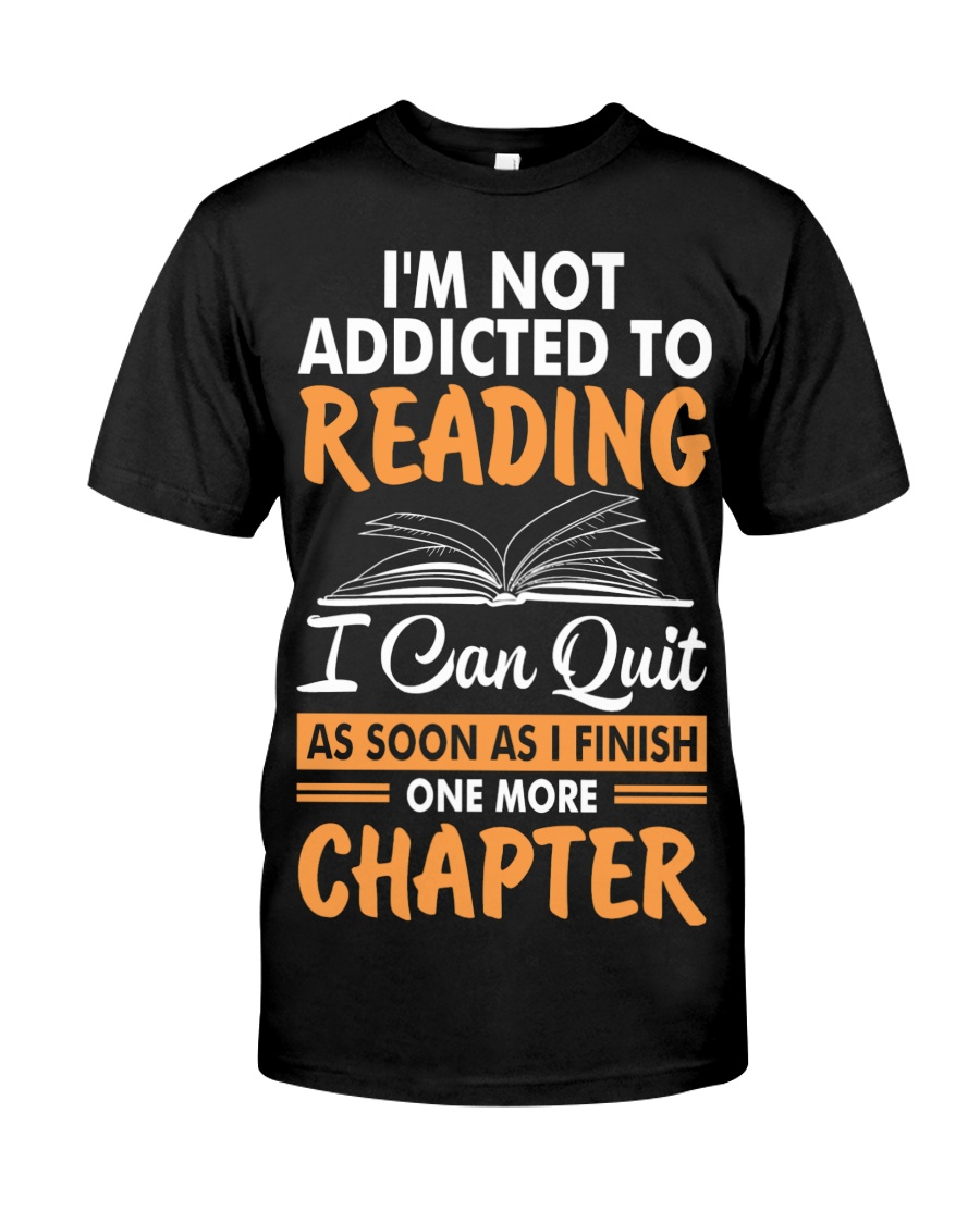 Addicted To Reading Classic T-Shirt