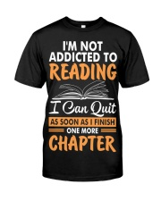 Addicted To Reading Premium Fit Mens Tee thumbnail