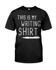 Writing shirt Classic T-Shirt front