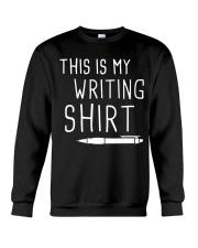 Writing shirt Crewneck Sweatshirt thumbnail