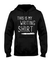 Writing shirt Hooded Sweatshirt thumbnail