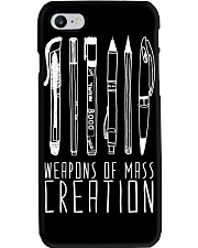 weapon of mass creation Phone Case thumbnail