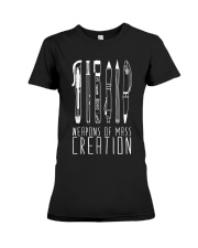 weapon of mass creation Premium Fit Ladies Tee thumbnail