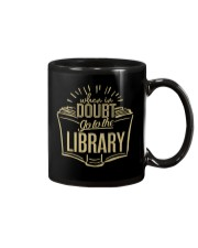 When In Doubt Go To The Library Mug tile