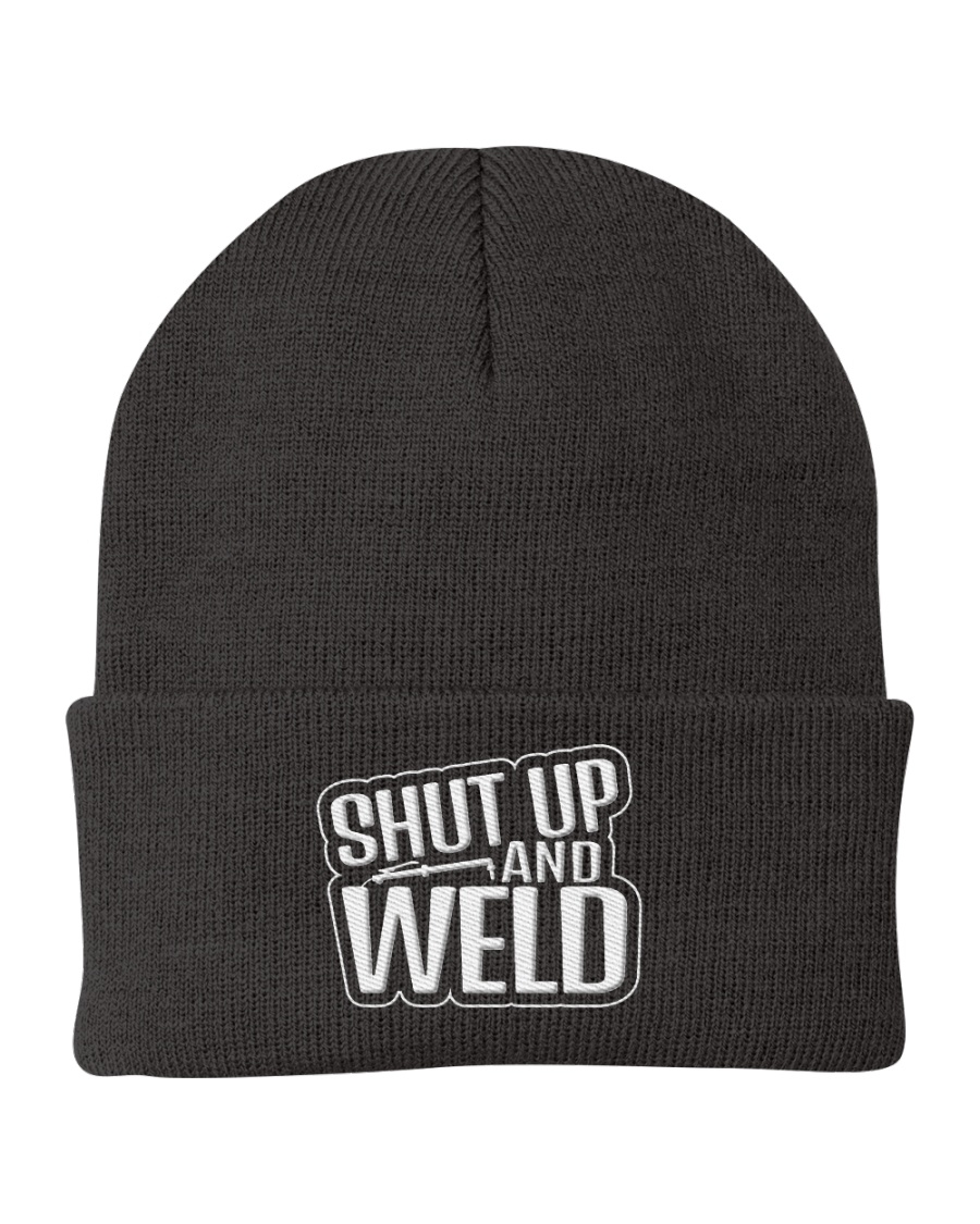 Shut Up and Weld Knit Beanie