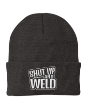 Shut Up and Weld Knit Beanie front
