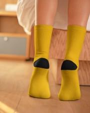 SpongeBob Socks Crew Length Socks aos-accessory-crew-length-socks-lifestyle-back-01