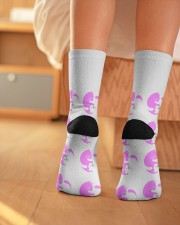 Cats Socks Crew Length Socks aos-accessory-crew-length-socks-lifestyle-back-01