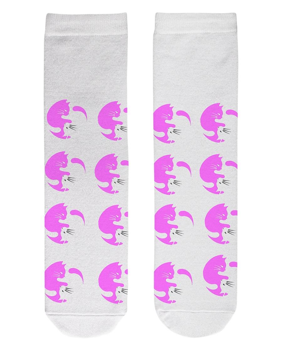 Cats Socks Crew Length Socks