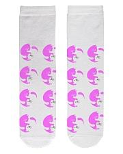 Cats Socks Crew Length Socks front