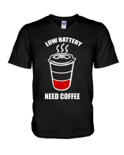 Coffee V-Neck T-Shirt thumbnail