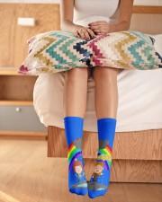 Rainbow Socks Crew Length Socks aos-accessory-crew-length-socks-lifestyle-front-01