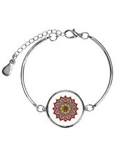 Beautiful Stylish Elegant colors  Metallic Circle Bracelet thumbnail