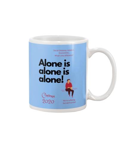 Corona 2020 - Alone is alone