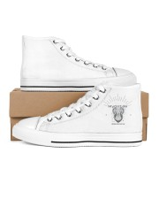 Corona 2020 - Alone is alone Men's High Top White Shoes thumbnail