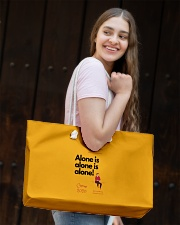 Corona 2020 - Alone is alone Weekender Tote aos-weekender-tote-24x13-lifestyle-front-01