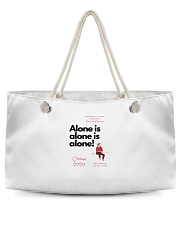 Corona 2020 - Alone is alone Weekender Tote thumbnail