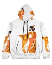 japanbulktest02 Women's All Over Print Hoodie thumbnail