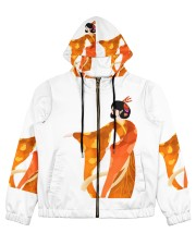 japanbulktest02 Women's All Over Print Full Zip Hoodie thumbnail