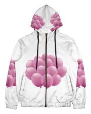 balloon test Men's All Over Print Full Zip Hoodie thumbnail