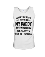 I Don't Always Listen To My Daddy Unisex Tank thumbnail