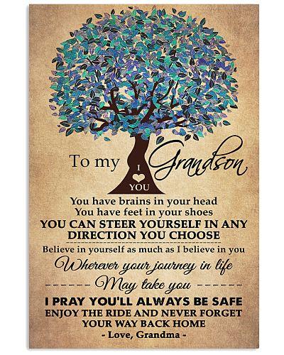 To My Grandson - Love Grandma