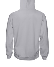 I'm A Lucky Daughter Of A Crazy Dad Hooded Sweatshirt back