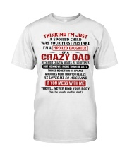 Thinking I'm Just A Spoiled Child Premium Fit Mens Tee thumbnail