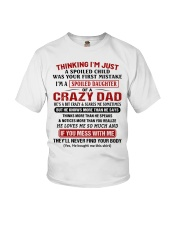 Thinking I'm Just A Spoiled Child Youth T-Shirt thumbnail