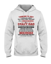 Thinking I'm Just A Spoiled Child Hooded Sweatshirt thumbnail