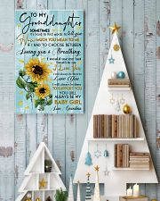 To My Granddaughter 11x17 Poster lifestyle-holiday-poster-2
