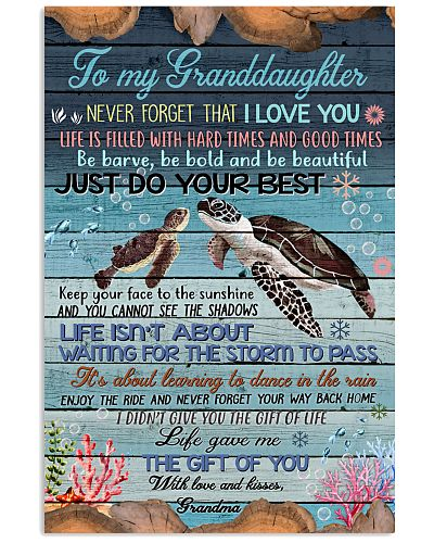 To My Granddaughter