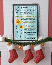 TO MY DAUGHTER - LOVE - YOUR DAD 11x17 Poster lifestyle-holiday-poster-4