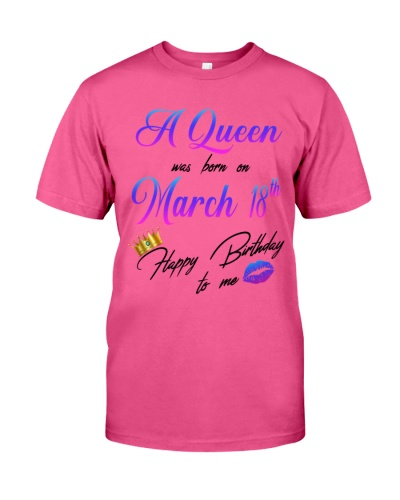 18 march a queen
