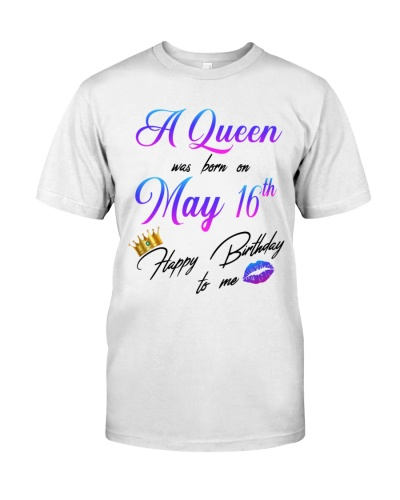 16 may a queen