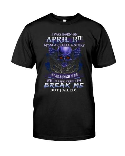 13 april  break me