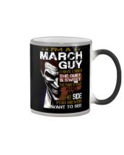 March Men Color Changing Mug thumbnail